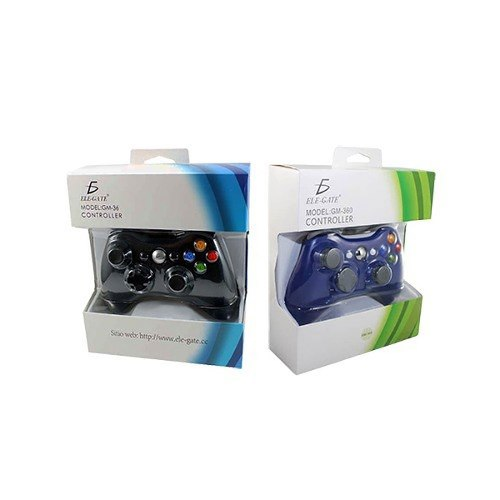 Control Gamepad Xbox 360 Alambrico Usb Pc Windows10 Ele-gate