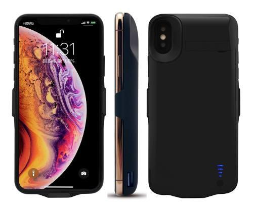 Funda Case Cargador 5000mah Bateria Pila iPhone X