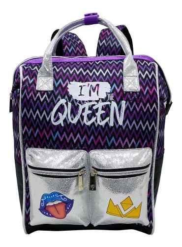Mochila Polinesios Karen I'm The Queen Original Oferta Prima