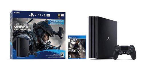 Ps4 Pro 1tb 4k Call Of Duty Modern Warfare Bundle Nuevo