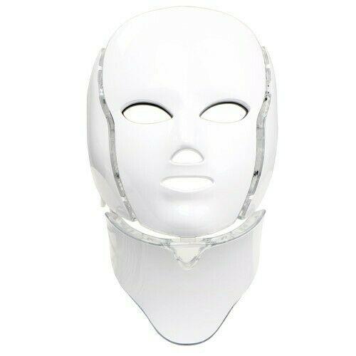 mascara led 7 colores con cuello