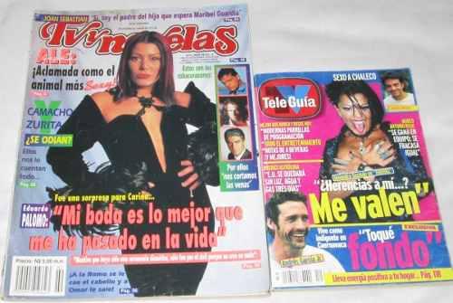 Alejandra Guzman. Lote De 2 Revistas Tvynovelas, Tele-guia
