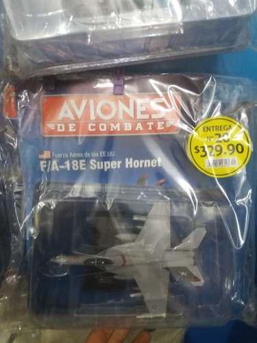 Aviones De Combate Salvat #20 F/a-18e Super Hornet