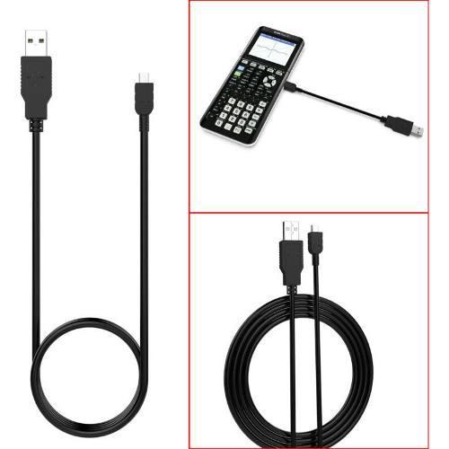 Cable De Carga Usb Para Texas Instruments Ti-84 Plus Ce, Ti-