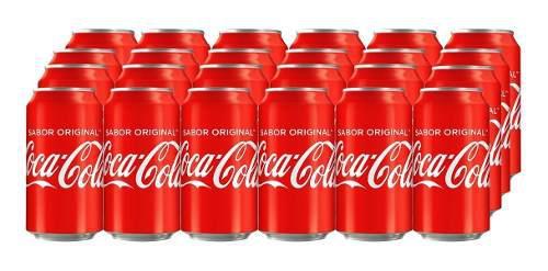 Caja Coca Cola Six Pack Lata 355 Ml.(24 Piezas)