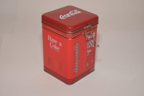Caja Metal Coca Cola, Retro.
