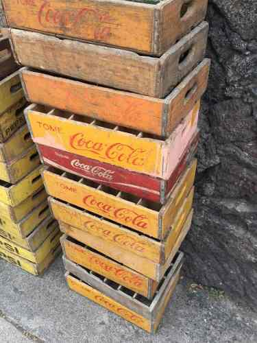 Cajas De Coca Cola Antiguas De Madera