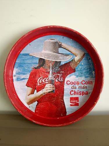 Carola Antigua De Cocacola Lámina Retro Coca Cola Coleccion