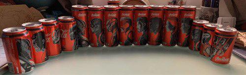 Colección Coca Cola Endgame 15 Latas