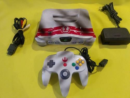 Consola Nintendo 64 Personalizada Star Wars Rogue Squadron