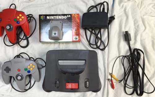 Consola Original Nintendo 64, Sin Caja