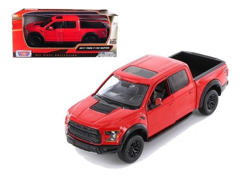 Ford F 150 Raptor  Roja By Motor Max 1:27