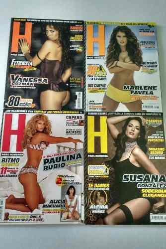 H Para Hombres Lote De 20 Revistas De Colección