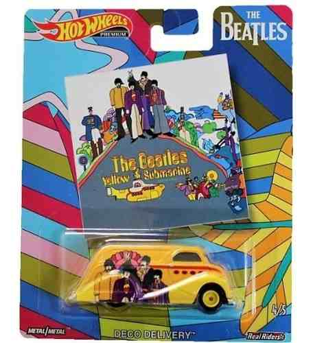 Hot Wheels 1:64 The Beatles Deco Submarino Amarillo