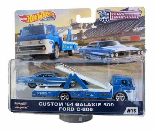 Hot Wheels Premium Team Transport Custom´64 Galaxie 500 For