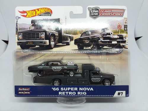 Hot Wheels Team Transport '66 Super Nova Retro Rig 1:64