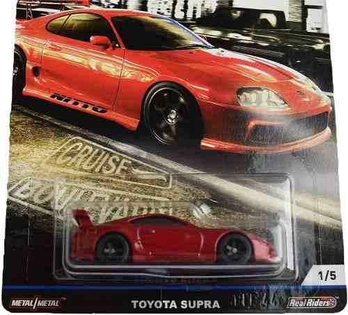 Hot Wheels  Toyota Supra 1/5 Cruise Boulevar Car Culture