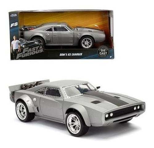 Jada Toys Fast And Furious 8 - Dom Ice Charger 1:24