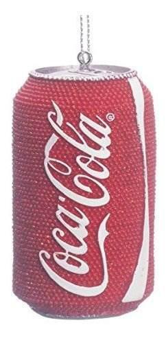 Kurt Adler Coca-cola Lata Adorno De Navidad