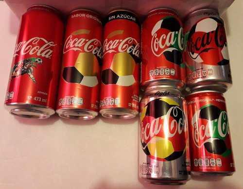 Latas Coca Cola Edición Limitada Fifa World Cup Russia 2018