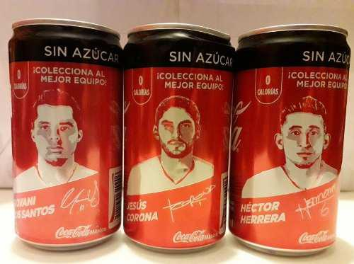 Latas Coca Cola Edición Limitada Jugadores S. M. Russia