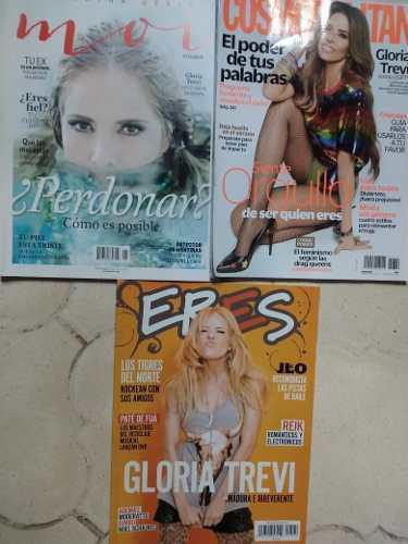 Lote 3 Revistas Nuevas Gloria Trevi Eres Moi Cosmopolitan