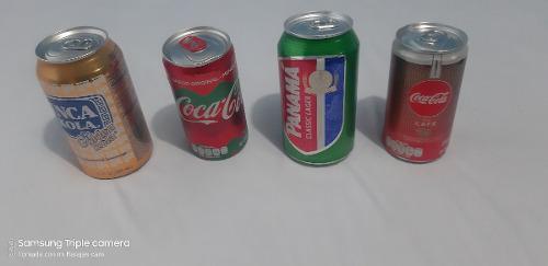 Lote 4 Latas De Refresco Edición Especial Coca Cola Inka