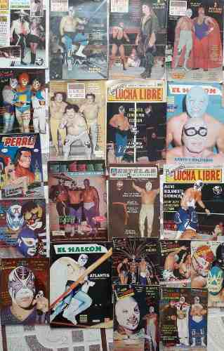 Lote De 20 Revistas De Lucha Libre