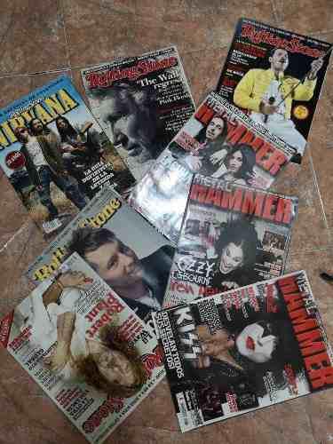Lote Revistas Metal Hammer, Nirvana, Kiss, Queen, Ozzy Y +