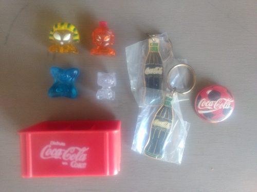 Lote Variado Coca Cola Rejilla Hielocos Llavero Pin No Pepsi