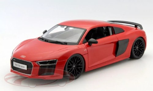 Maisto 1/18 Audi R8 V10 Plus Metal Diecast
