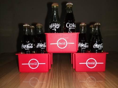 Mini Botellitas Coca Cola De Cristal
