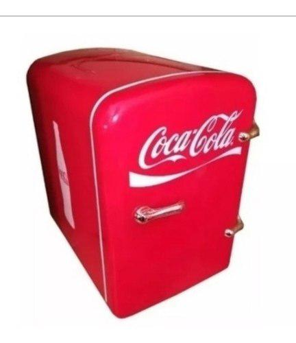 Mini Refrigerador Coca Cola 6 Latas También Calienta