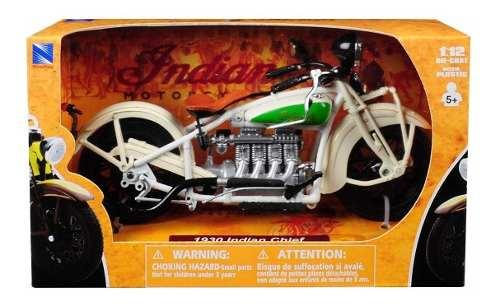 Nueva Moto De Colección  Indian Chief Escala 1:12