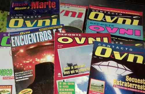 Revistas Ovni De Colección. Paquete Con 15 En Buen Estado