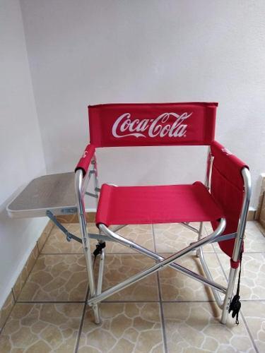 Silla Coca Cola Pic Nic De Colección