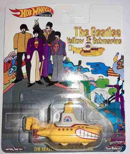 The Beatles Yellow Submarine Hotwheels De Colección