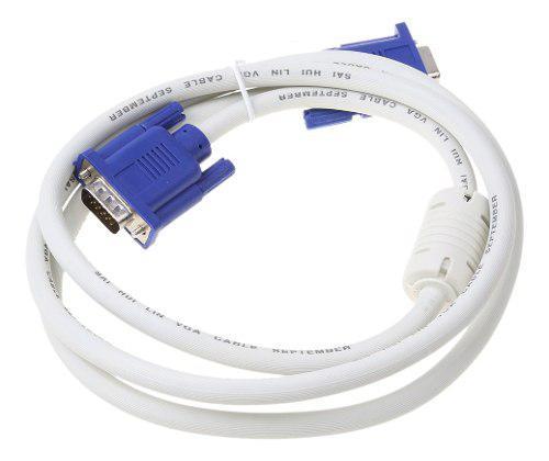 Vga Macho A Macho Cable De Adaptador De Extensión Para Pc