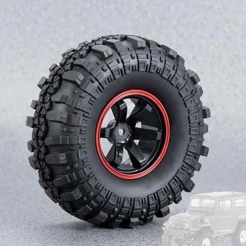 110mm 1.9 Pulgadas Llanta Neumático Neumático Para 1/10 Rc