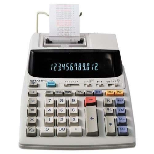 2 Dígitos De La Calculadora De Impresión De Serie 2-color