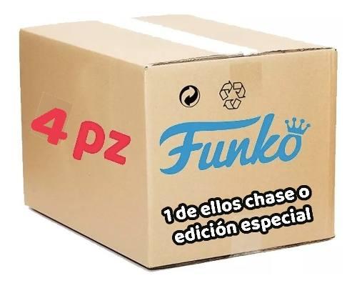 4 Piezas Funko Pop Al Azar Incluye 1 Especial O Chase Origin