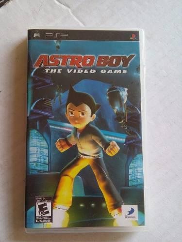 Astroboy The Videogame Psp Playstation Portable Astro Boy
