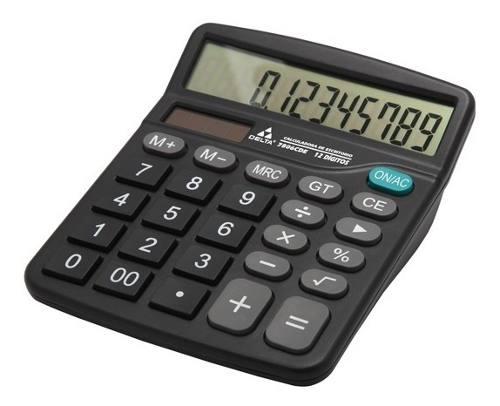 Calculadora De Escritorio 12 Digitos Delta