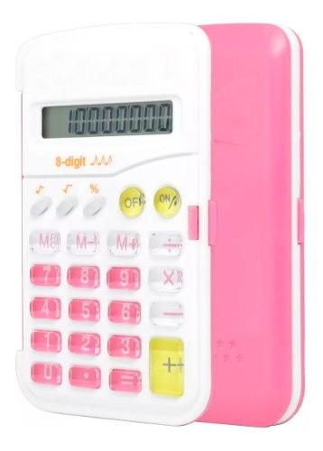 Calculadora Electronica De Escritorio Barata Escolar De 8