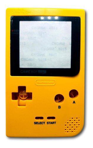 Carcasa De Restauración Game Boy Pocket Yellow Shell Nuevo
