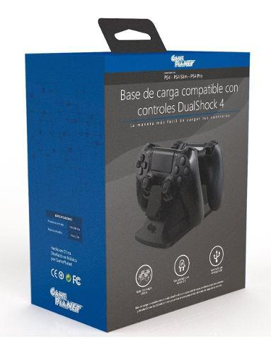 Cargador Control Playstation Estacion De Carga Doble Gp Comp