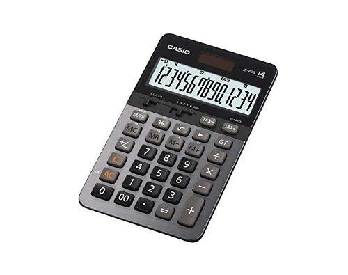 Casio Js-40b De La Calculadora De 14 Dígitos Gt Dual Power