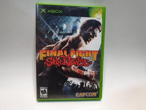 Final Fight Street Wise Xbox Clasico Juegazo Impecable