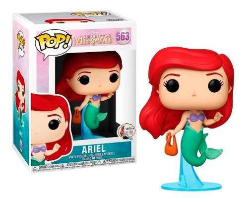 Funko Pop Little Mermaid Ariel With Bag (La Sirenita)