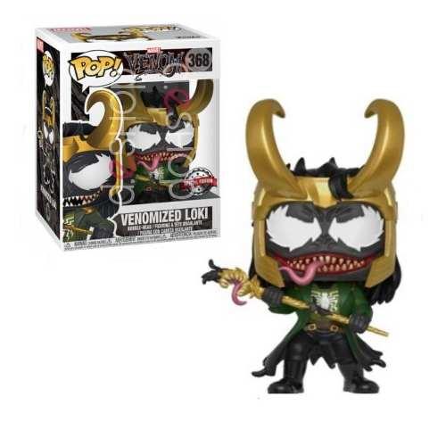 Funko Pop Venomized Loki Venom 100% Original Special Edition